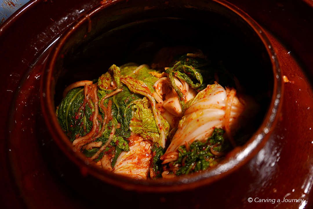 Making Kimchi for the First Time