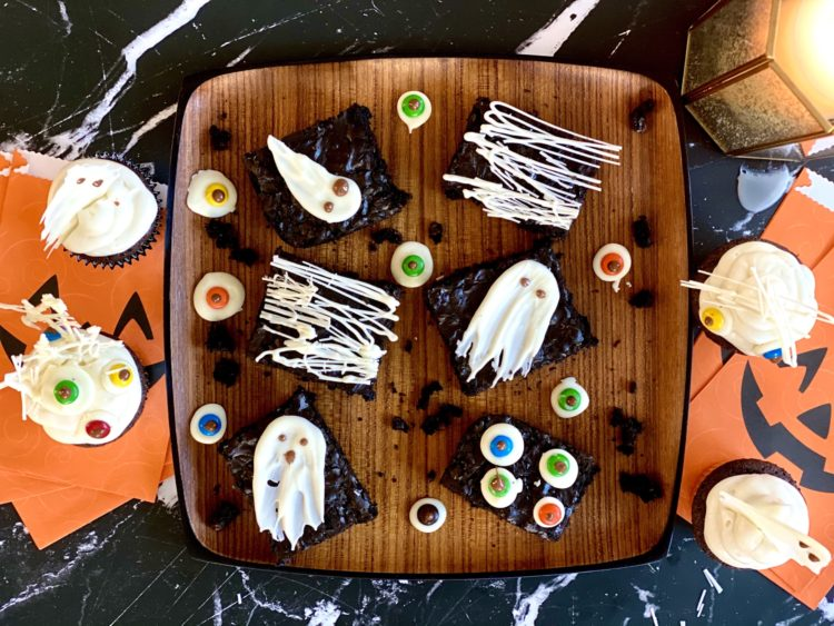 Halloween Tempered Chocolate Treats and Decorations